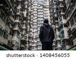 Traveler Exploring The Urban...