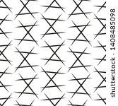 vector trendy seamless... | Shutterstock .eps vector #1408485098