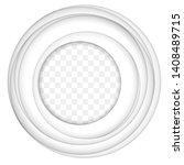 vector white paper cut...   Shutterstock .eps vector #1408489715