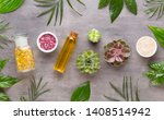 spa background with a space for ... | Shutterstock . vector #1408514942