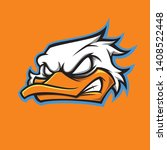 Duck Mascot For Your Team Logo...