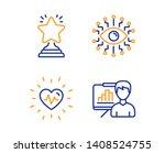 heartbeat  artificial... | Shutterstock .eps vector #1408524755