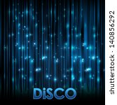 Abstract Background. Disco Neon