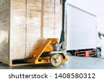 Hand Pallet Truck Or Pallet...