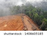 Deforestation. Aerial Photo Of...