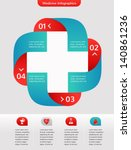 medical and healthcare icon and ... | Shutterstock .eps vector #140861236