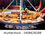 Traditional Bbq Barbeque Wurst...