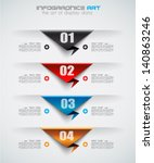 infographic design template... | Shutterstock .eps vector #140863246
