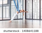 professional gymnast beautiful... | Shutterstock . vector #1408641188
