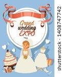 bride vector bridesmaid woman...   Shutterstock .eps vector #1408747742