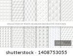 collection of white and gray... | Shutterstock .eps vector #1408753055