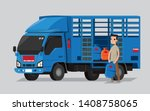 liquefied petroleum gas... | Shutterstock .eps vector #1408758065