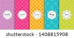 vector geometric seamless... | Shutterstock .eps vector #1408815908