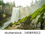 Vernal Falls  Located On The...