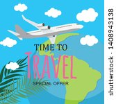 time to travel template...   Shutterstock .eps vector #1408943138