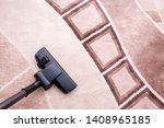 house cleaning. vacuum cleaner... | Shutterstock . vector #1408965185