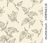 seamless pattern with... | Shutterstock .eps vector #1408966118