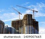 Construction Site. High Rise...
