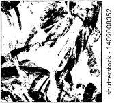grunge is black and white. worn ... | Shutterstock .eps vector #1409008352