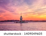 Maiden's Tower In Istanbul...