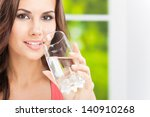 portrait of young woman... | Shutterstock . vector #140910268