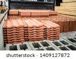 Clay Tile And Brick Blocks...