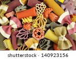 Multicolored Italian Pasta ...