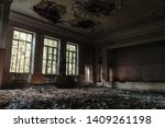 Abandoned Assembly Hall At The...