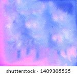 watercolor abstract background. ... | Shutterstock . vector #1409305535