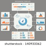 detailed infographic elements... | Shutterstock .eps vector #140933362
