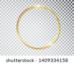 gold shiny glowing vintage... | Shutterstock .eps vector #1409334158