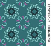 summer branches elegant...   Shutterstock .eps vector #1409518295