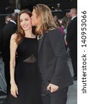 Brad Pitt And Angelina Jolie...