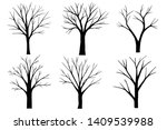 Tree And Branch Drawing  Black...