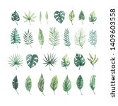 watercolor vector illustration. ...   Shutterstock .eps vector #1409603558