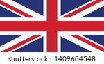 british flag a vector... | Shutterstock .eps vector #1409604548