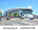 Small photo of London, England - 05.12.2019: Tottenham Hotspur Stadium is a stadium that serves as the home for Tottenham Hotspur in north London, replacing the club's previous stadium, White Hart Lane