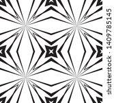 geometric seamless pattern ... | Shutterstock .eps vector #1409785145