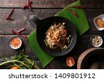 som tam thai   papaya salad... | Shutterstock . vector #1409801912