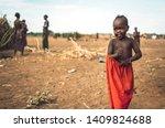 omo valley  ethiopia   november ...   Shutterstock . vector #1409824688