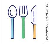 reusable bamboo cutlery line...