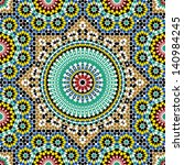 morocco seamless pattern.... | Shutterstock .eps vector #140984245