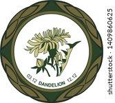 Celtic Horoscope Floral. Druid...