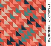 abstract geometric polygonal... | Shutterstock .eps vector #1409909825