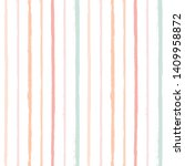 hand drawn striped pattern ... | Shutterstock .eps vector #1409958872