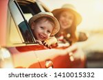 happy  family mother and child... | Shutterstock . vector #1410015332