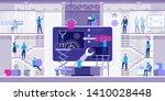 web development and coding.... | Shutterstock .eps vector #1410028448