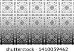 black and white relief convex... | Shutterstock . vector #1410059462
