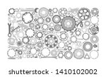 auto spare parts and gears ...   Shutterstock .eps vector #1410102002