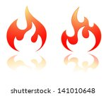 flame icon | Shutterstock . vector #141010648